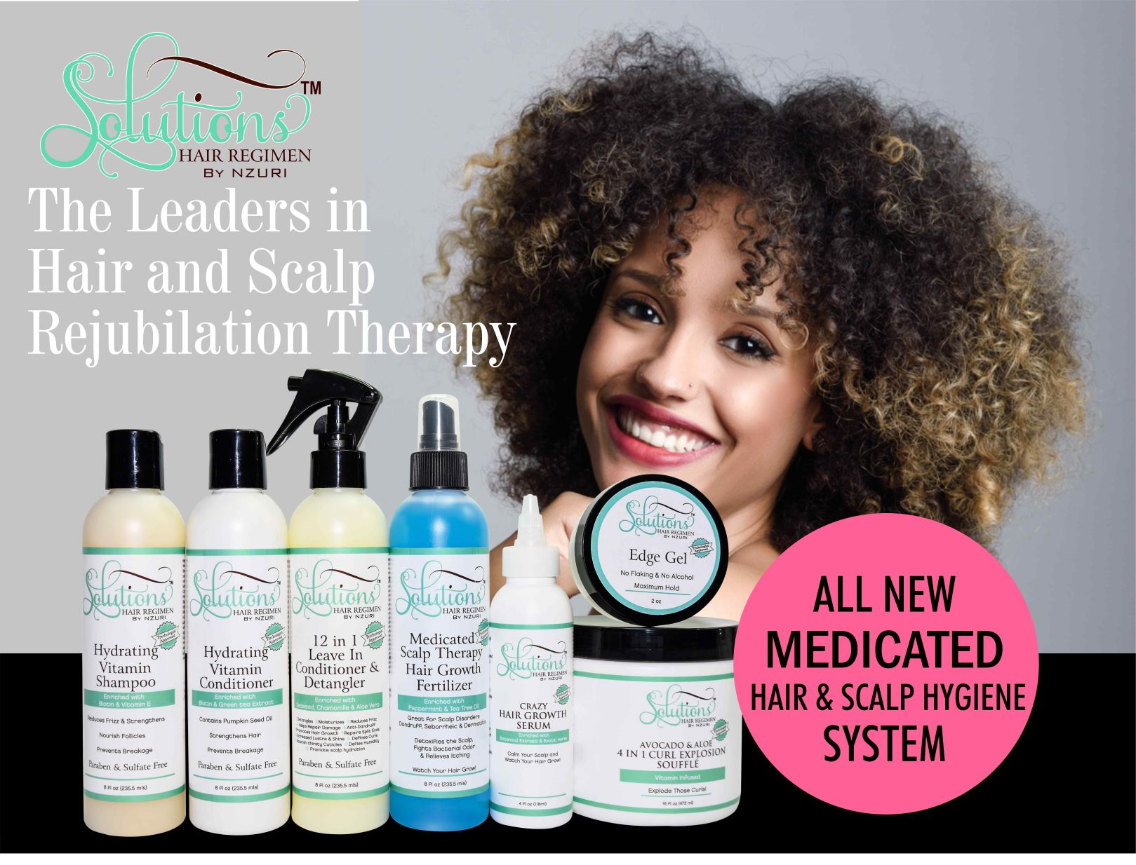 The Leader in Hair and Scalp Re-jubilation Therapy