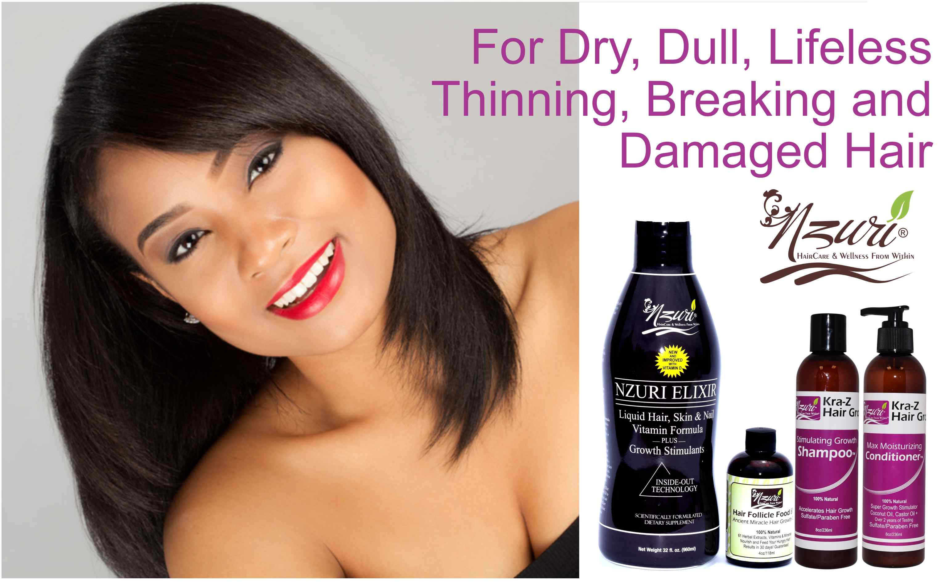 For Dry, Dull and Damaged Hair